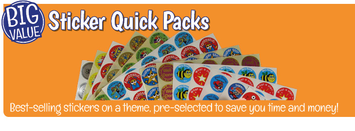 Stickers - Quick Packs